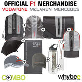 FORMULA 1 2013 McLAREN MERCEDES OFFICIAL MERCHANDISE COLLECTION! 10 ITEMS!
