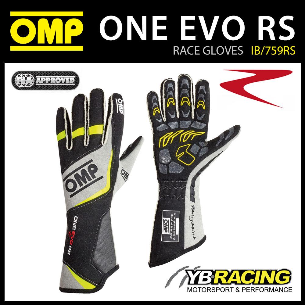 Omp Sport Gloves: /IB/759RS OMP ONE EVO RS GLOVES