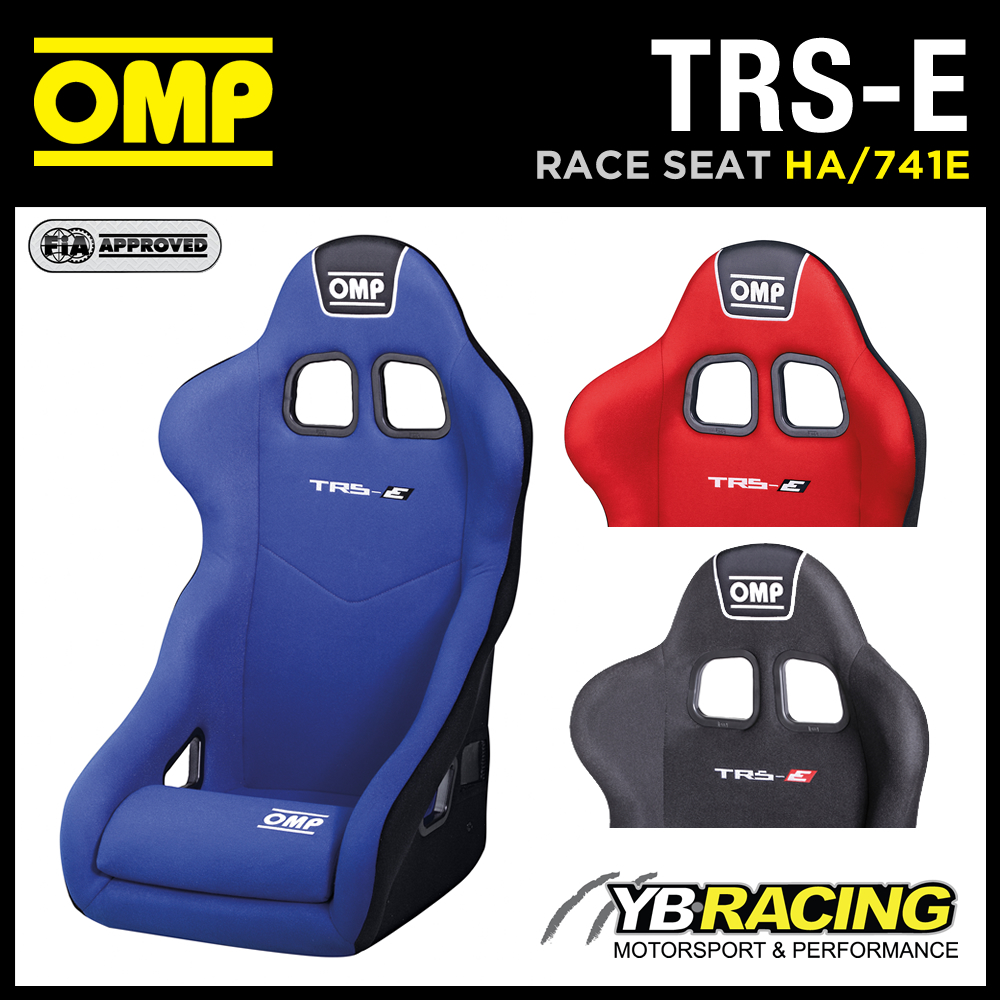 HA/741E OMP TRS E RACING RACE SEAT OMP TOP SELLING ENTRY LEVEL - in 3 COLOURS!