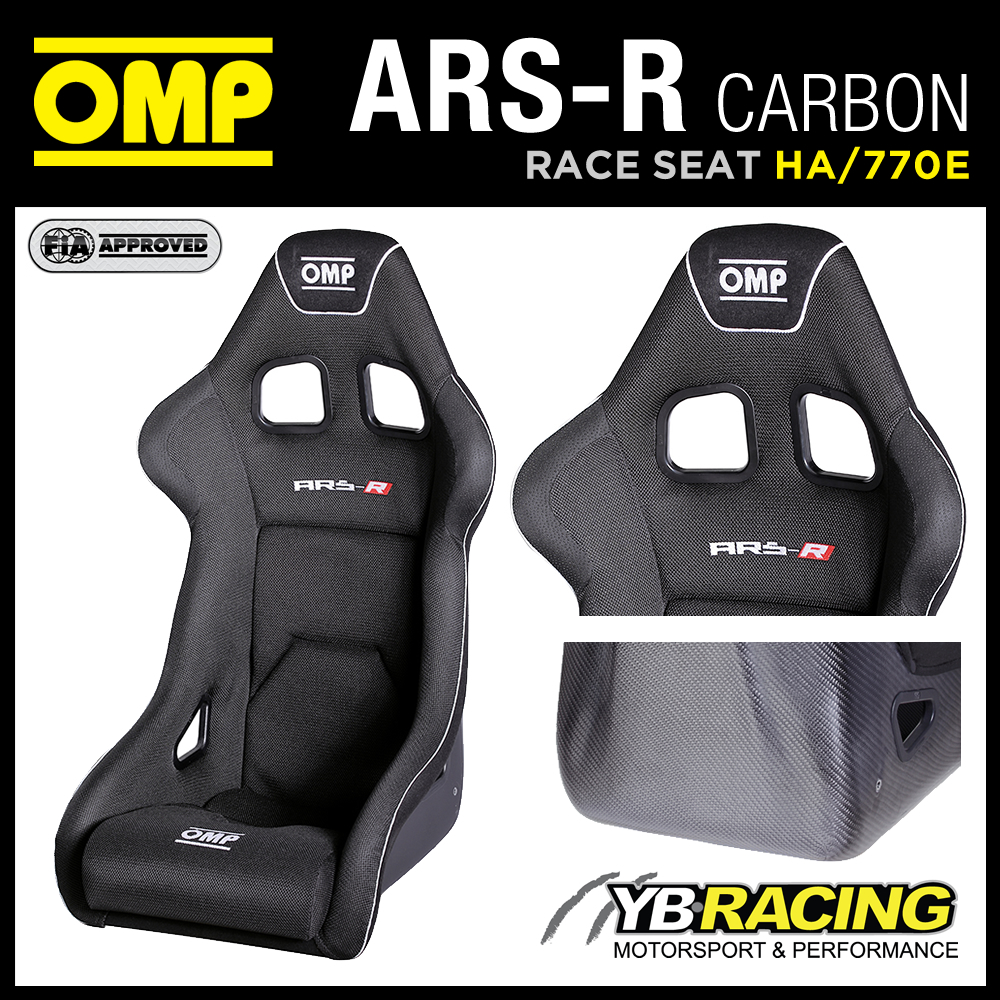 "HA/770E OMP ""ARS-R CARBON"" RACE SEAT LIGHTWEIGHT CARBON FIBRE MOULDED AUTOCLAVE"