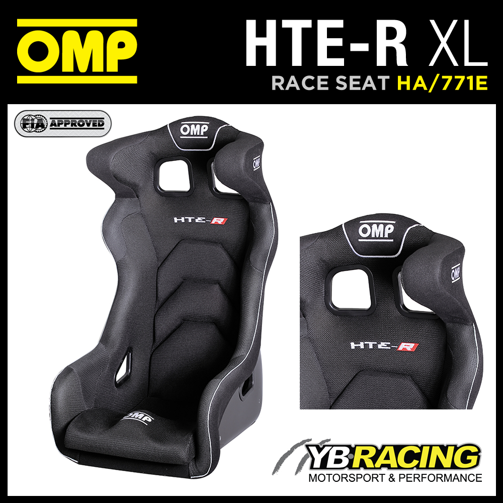 """HA/771E OMP """"HTE-R"""" XL RACE RALLY SEAT EXTRA LARGE VERSION XL LARGER & HIGHER!"""