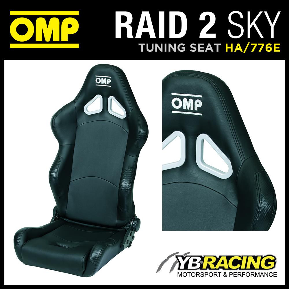 HA/776E/N OMP 'RAID 2 SKY' RECLINABLE SEAT OFF-ROAD USE OMP WASHABLE FABRIC