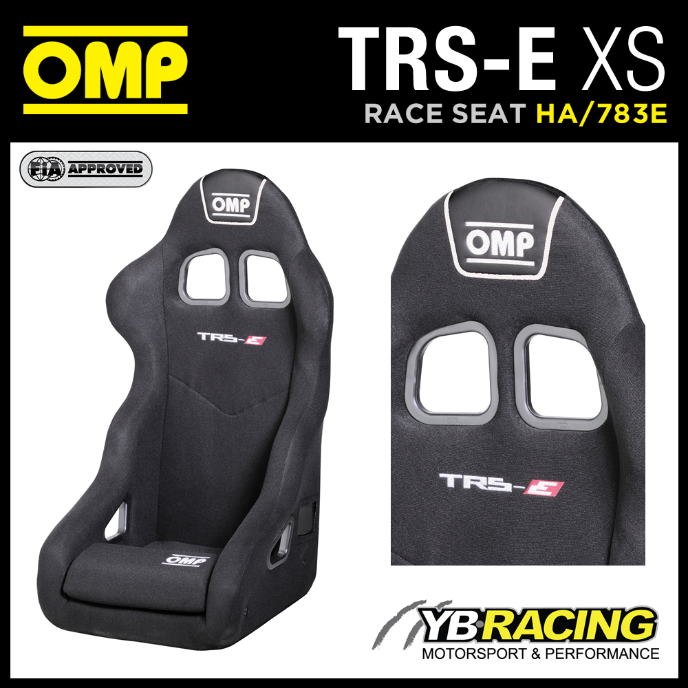 """NEW! HA/783E OMP """"TRS-E XS"""" RACING SEAT SPECIAL XS SIZE FOR SMALLER DRIVERS OMP"""