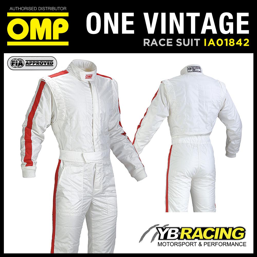OMP ONE VINTAGE RACE SUIT