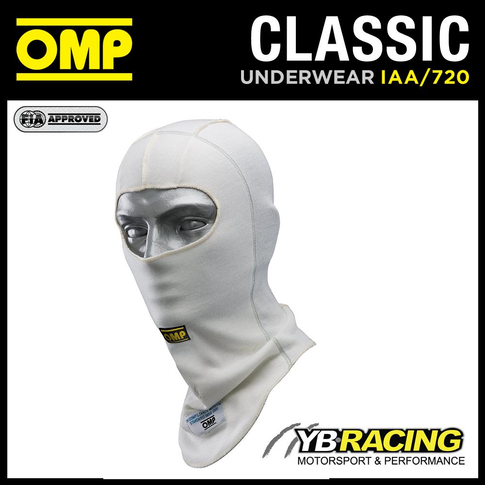 IAA/720 OMP CLASSIC WHITE BALACLAVA