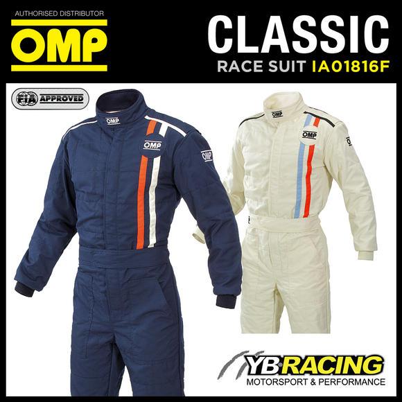 View Item IA01816F OMP CLASSIC RACE SUIT