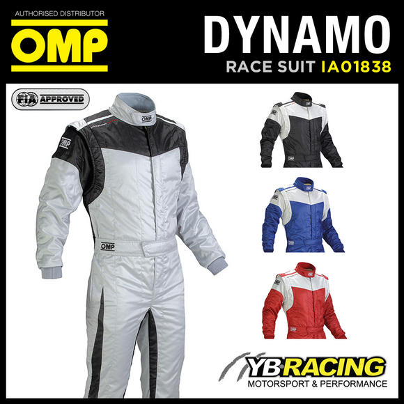 View Item IA01838 OMP DYNAMO RACE SUIT