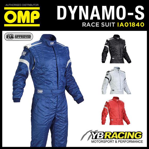 View Item IA01840 OMP DYNAMO-S RACE SUIT