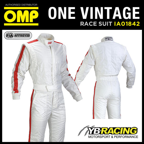 View Item OMP ONE VINTAGE RACE SUIT