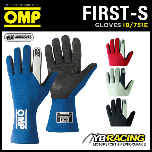 View Item IB/751E OMP FIRST-S GLOVES