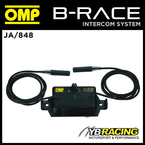 View Item JA/848 OMP INTERCOM B-RACE CONTROL BOX ENTRY LEVEL for RACE RALLY MOTORSPORT