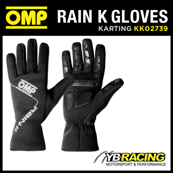 View Item KK02739 OMP RAIN K KART GLOVES