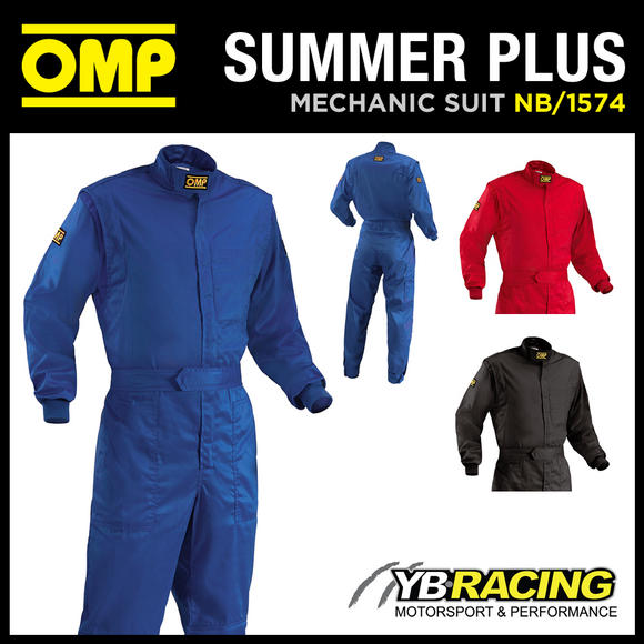 View Item SALE! NB/1574 OMP SUMMER PLUS OVERALLS MECHANIC SUIT PIT CREW KARTING LEISURE
