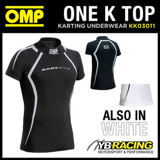 View Item KK03011 OMP ONE K SHORT SLEEVED KART TOP