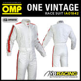 OMP ONE VINTAGE RACE SUIT