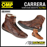 IC/782 OMP CARRERA VINTAGE BOOTS