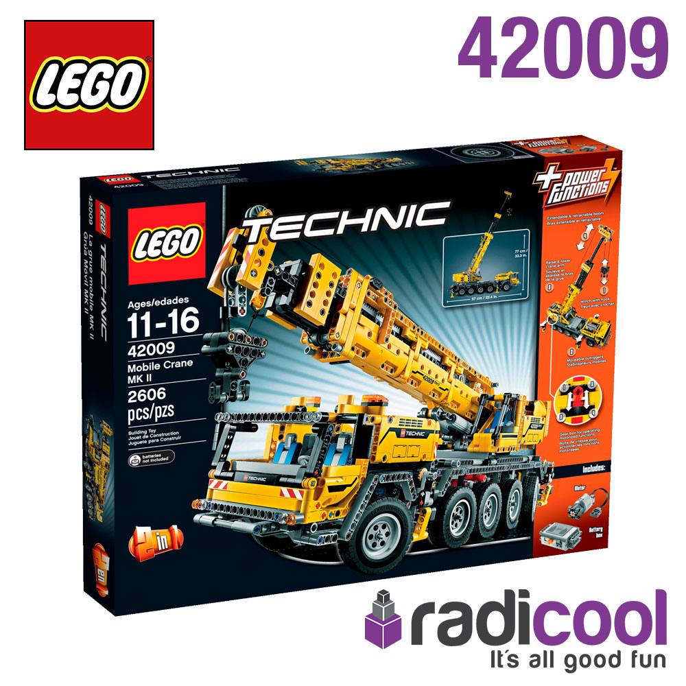 42009 lego mobile crane mk ii technic age 11 16 2606. Black Bedroom Furniture Sets. Home Design Ideas