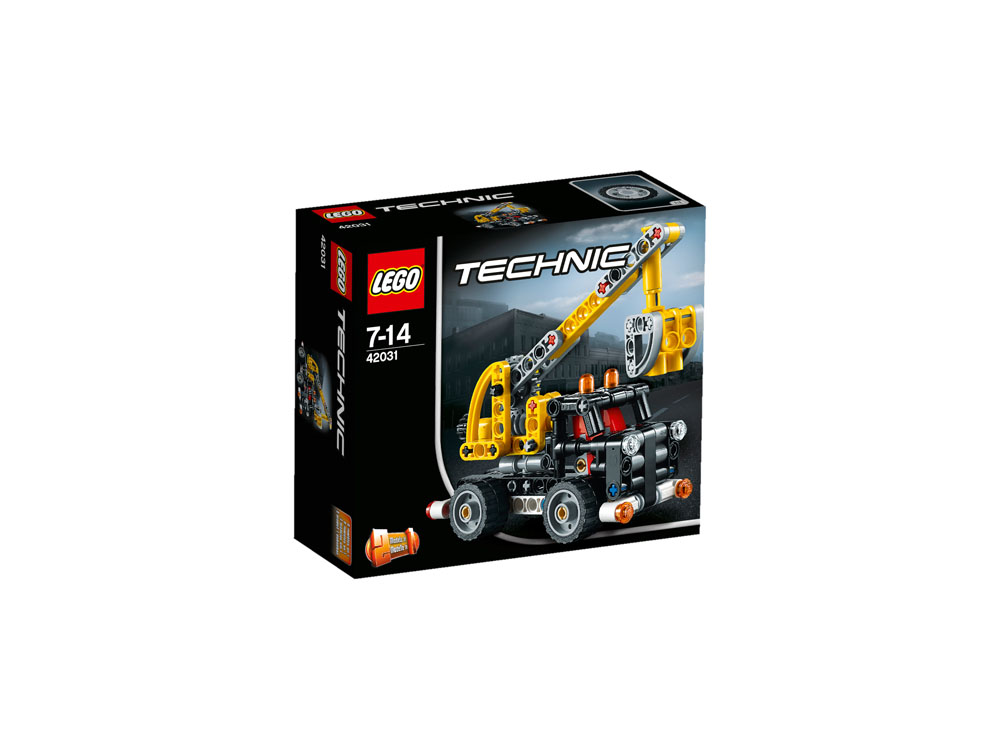 42031 lego cherry picker technic age 7 14 155 pieces new 2015 release ebay. Black Bedroom Furniture Sets. Home Design Ideas