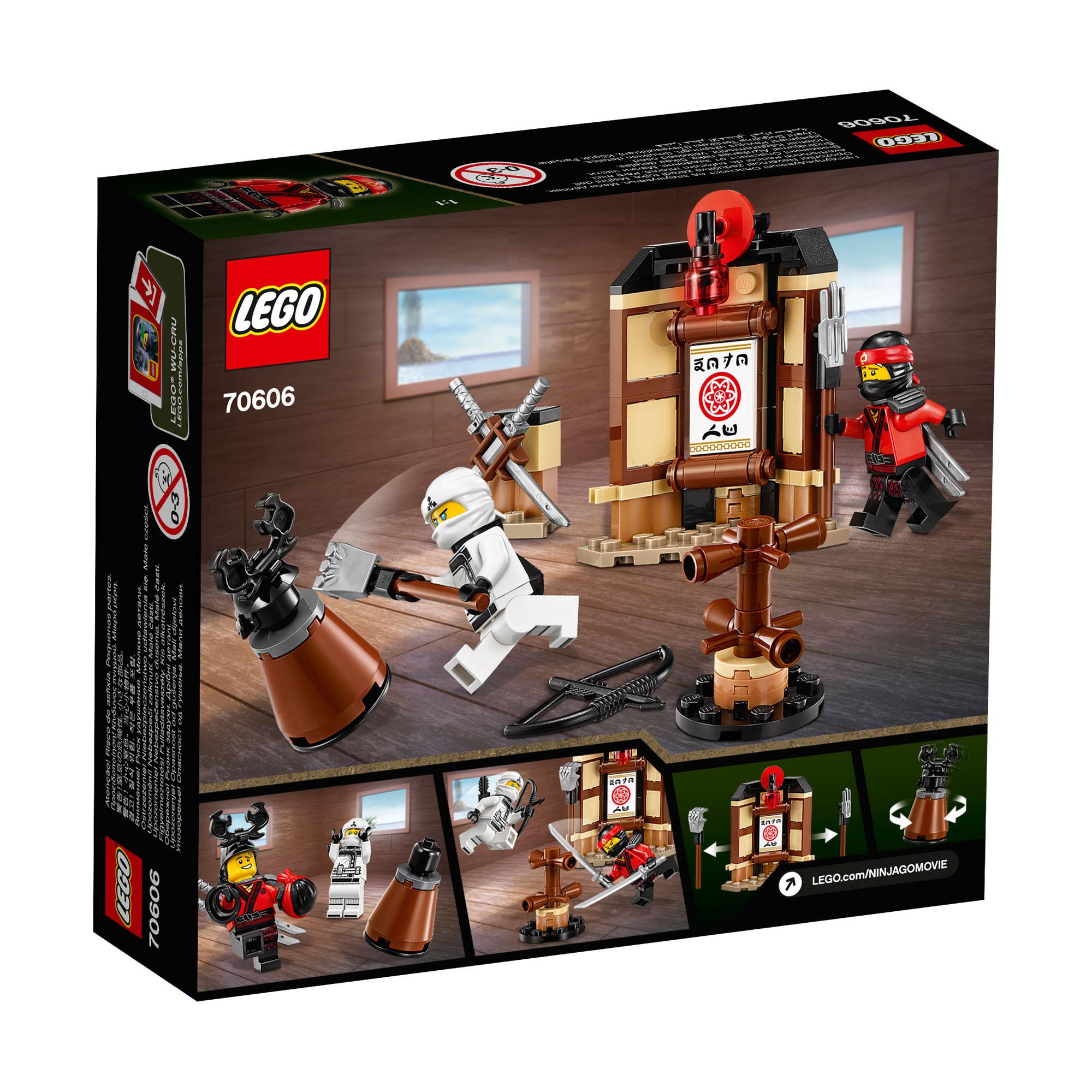 70606 lego ninjago movie spinjitzu training 109 pieces age 6 14 new release 2017 - Lego ninjago 6 ...