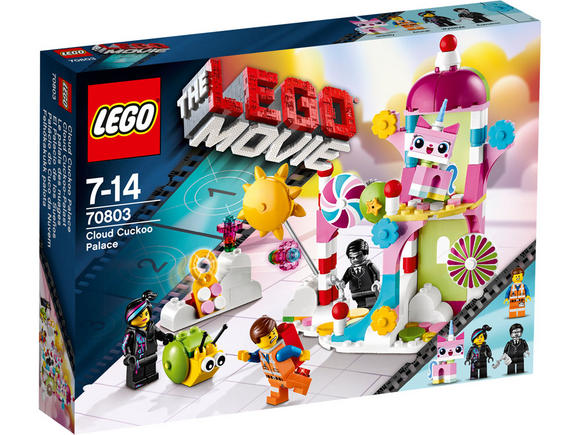 70803 LEGO Cloud Cuckoo Palace LEGO Movie Age 7-14 / 197 Pieces / 2014 Range Preview