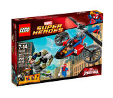76016 LEGO Spider-Helicopter Rescue Super Heroes Ages 6-12 / 299 Pieces / 2014