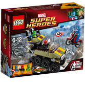 76017 LEGO Captain America Vs. Hydra Super Heroes Ages 6-12 / 172 Pieces / 2014