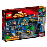 76018 LEGO Hulk Lab Smash Super Heroes Ages 6-12 / 398 Pieces / 2014 Release