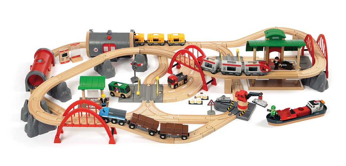 brio railway set full range of wooden train sets children kids 22 to choose from ebay. Black Bedroom Furniture Sets. Home Design Ideas