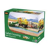 BRIO 33721 Safari Crossing - Railway Accessories Age 3-5 years / tbc pcs New!