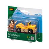 BRIO 33723 Safari Vehicle - Railway Rolling Stock Age 3-5 years / 2 pcs New!