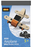 BRIO 34558 Mini Airplane - Builder Vehicles Age 4-6 years / 21 pcs New in Box
