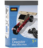 BRIO 34559 Mini Dragster - Builder Vehicles Age 4-6 years / 19 pcs New in Box