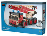 BRIO 34566 Fire Truck - Builder Vehicles Age 4-6 years / 158 pcs New in Box