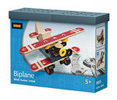 BRIO 34568 Biplane - Builder Vehicles Age 4-6 years /  New in Box