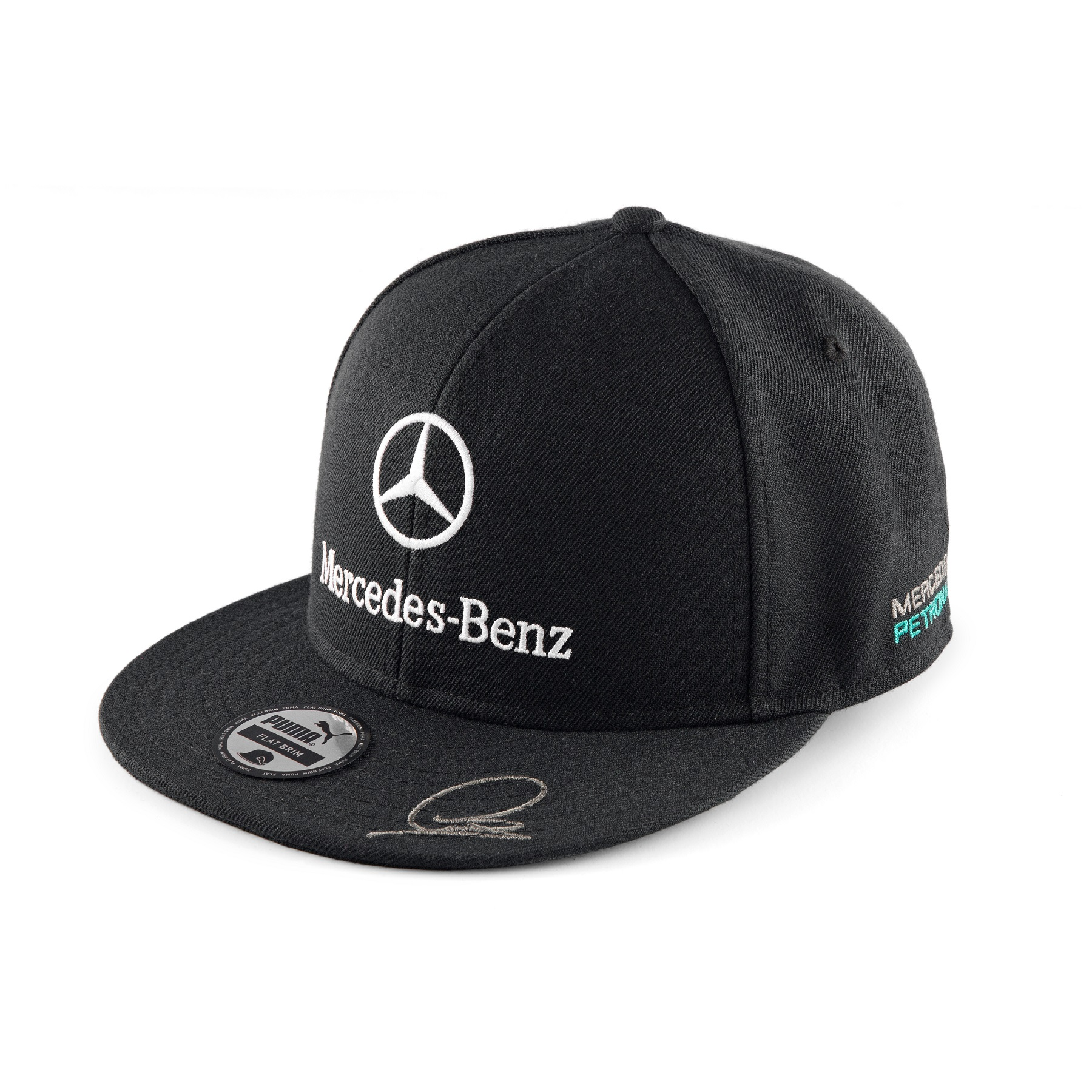 2014 lewis hamilton puma flat brim cap mercedes benz amg for Mercedes benz caps hats