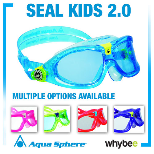 Aqua Sphere Seal Kid 2 Youth Swimming Goggles And Masks - Childrens Swim Goggles Preview