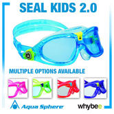 Aqua Sphere Seal Kid 2 Youth Swimming Goggles And Masks - Childrens Swim Goggles
