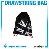 Aqua Sphere Union Jack Draw String Bag - Swimming Bags Union Jack Colours