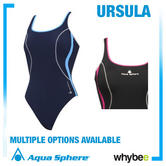 Aqua Sphere Ursula Womens Swim Suit Aqua Infinity Ladies Swimwear All Sizes