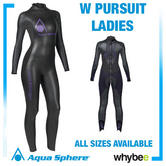Aqua Sphere Ladies Womens Pursuit Triathlon Wetsuit Swimming