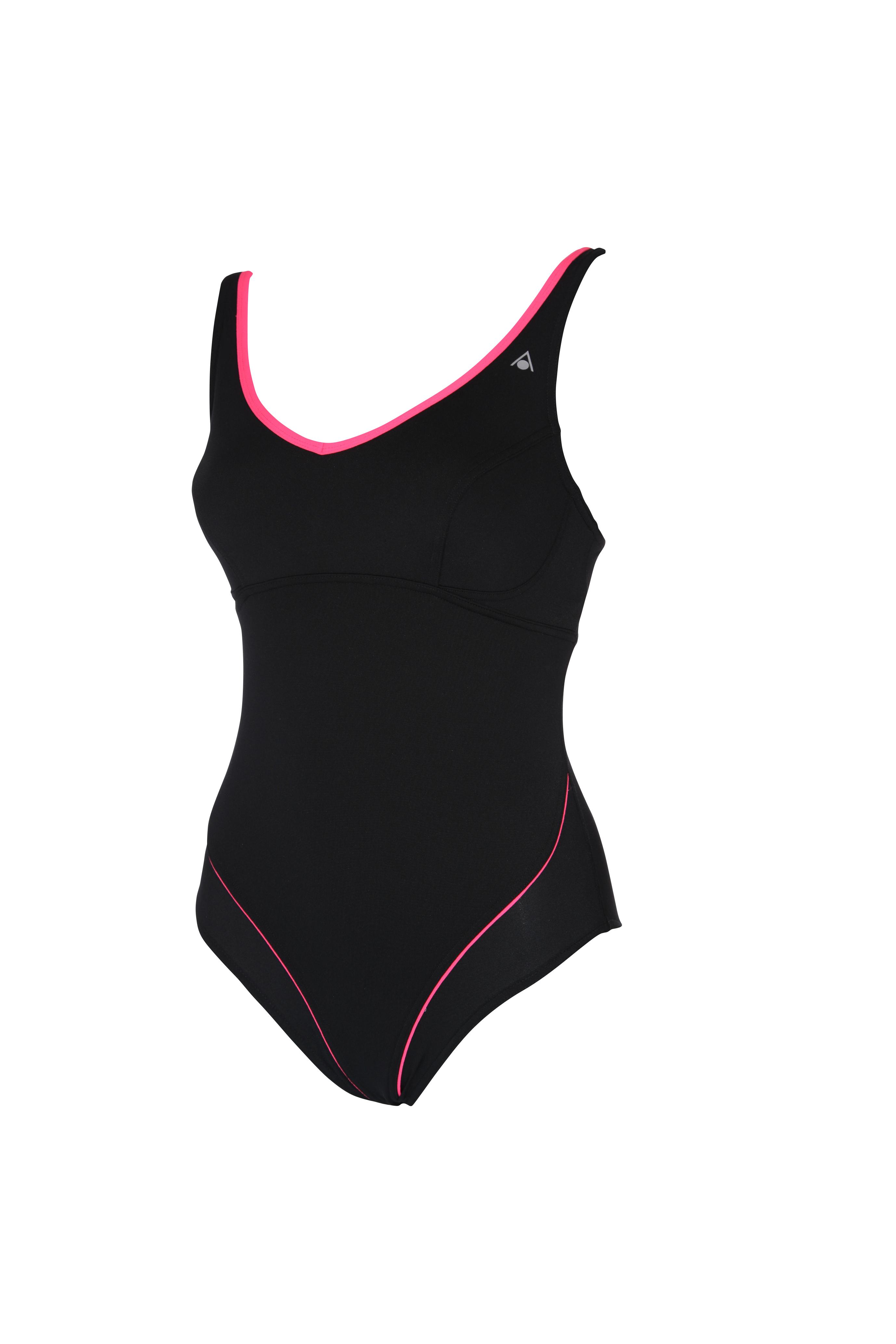 aqua sphere chloe femmes maillots de bain maillot de bain costume noir rose toutes les tailles. Black Bedroom Furniture Sets. Home Design Ideas