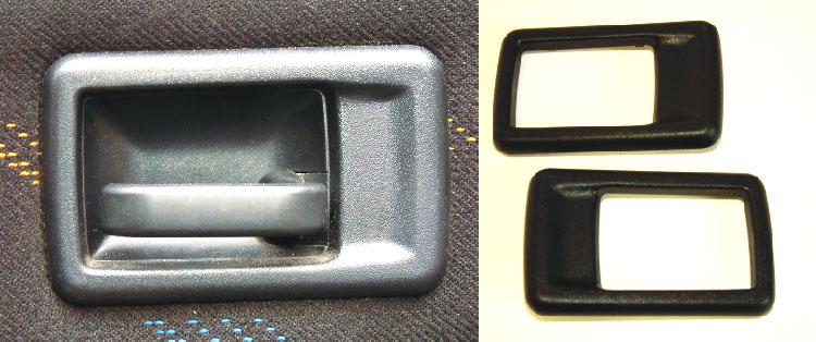 Peugeot 106 interior door handle covers pair xs xsi for 106 door cards