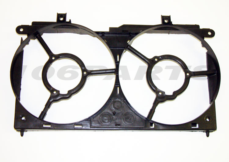 Peugeot 106 GTi 1.6 16v S16 & 1.6 RALLYE Engine Cooling Fan Surround Frame - New
