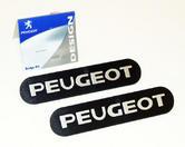 Peugeot 106 Mud Flap Badges (x2) XS XSi RALLYE GTi QUIKSILVER S16 - Genuine Part