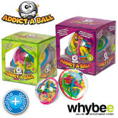 ADDICT A BALL 3D PUZZLE MAZE LARGE MAZE 1 AND SMALL MAZE 2 ADDICTABALL BRAND NEW