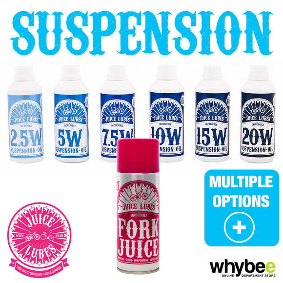 JUICE LUBES BIKE CYCLE SUSPENSION OILS - FORK CLEANER - MTB ROAD BMX CROSS Preview