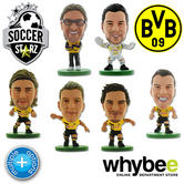 BORUSSIA DORTMUND SOCCERSTARZ FOOTBALL MODEL FIGURES - OFFICIAL SOCCER STARZ