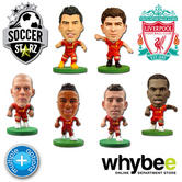 LIVERPOOL FC SOCCERSTARZ FOOTBALL MODEL FIGURES -OFFICIAL THE REDS SOCCER STARZ