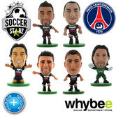 PARIS ST GERMAIN FC SOCCERSTARZ FOOTBALL MODEL FIGURES OFFICIAL PSG SOCCER STARZ
