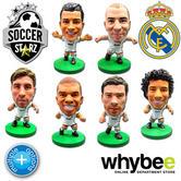 REAL MADRID CF SOCCERSTARZ FOOTBALL FIGURES - OFFICIAL LOS BLANCOS SOCCER STARZ